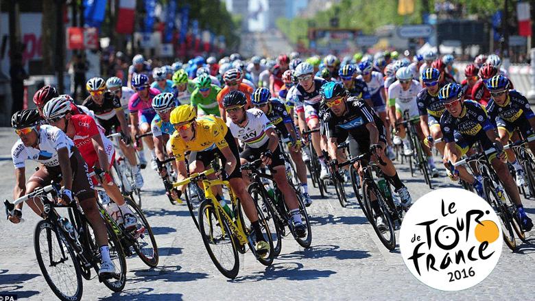 PR Play at the Tour de France